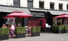 """In Paris you will find an iconic store famous for their delicious products. Fauchon made som eclairs for the Lacoste celebration of the 80 years of the brand."""