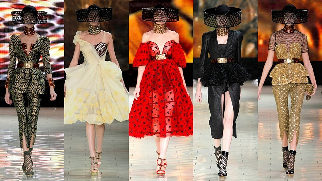 The best looks from the top fashion show in Paris. The best haute couture designers and brands: Channel, Louis Vuitton, Valentino, Chloé, Alexander McQueen, Miu Miu