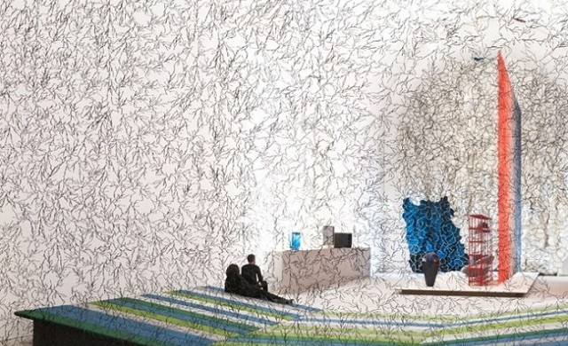 """""""From April 26 to 1 September 2013, Ronan and Erwan Bouroullec revisit 15 years creations at exposition Arts Décoratifs in France."""""""