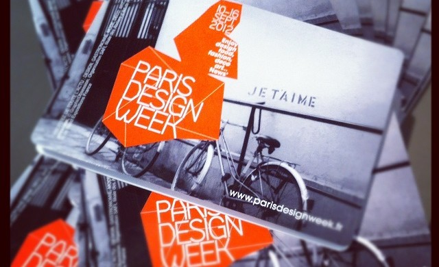 Paris design week coming up in September