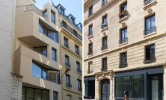 """The project of the rue Godefroy Cavaignac, in Paris, consisted in the rehabilitation of a degraded building into new social housing by h2o architectes."""