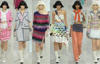 """""""In the most recent edition of Paris Fashion Show the iconic Designer Karl Lagerfeld created a ready-to-wear Spring/Summer 2014 Collection for Chanel."""""""