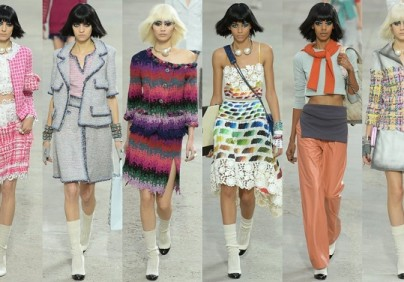 """In the most recent edition of Paris Fashion Show the iconic Designer Karl Lagerfeld created a ready-to-wear Spring/Summer 2014 Collection for Chanel."""