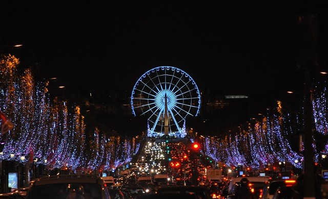 """Get the most out of Christmas with the guide of Paris biggest and best events that will definitely warm this holiday season."" Christmas activities in Paris: events to participate Christmas activities in Paris: events to participate champs elysees christmas lights 640x390"