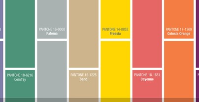 """""""Pantone's fashion colours selection is out already and they couldn't be more vibrant. Classy, funny and sober you have all types of colours"""""""