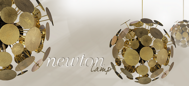 Maison&Objet Maison & Objet Scènes d'Intérieur Hall 7 Maison & Objet Scènes d'Intérieur Hall 7 newton gold supension lamp 01
