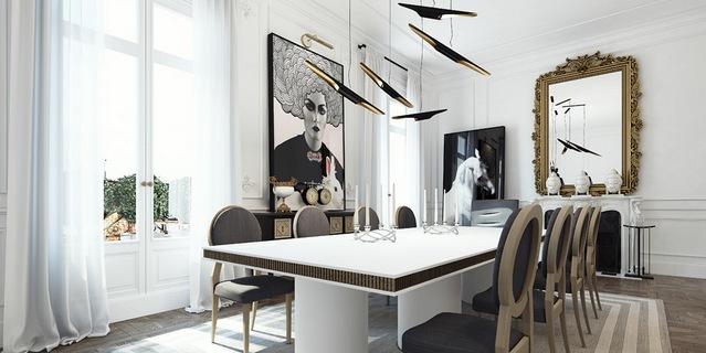 A design apartment in Paris (Saint-Germain des Prés)