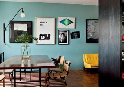 Colorful apartment of Maurício Arrude Colorful apartment of Maurício Arrude Mauricio Arruda appartement 404x282