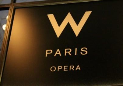 W Hotel Paris Opéra-Flash Interview-Lounge Hotel