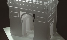 create Arc de Triomphe in origami
