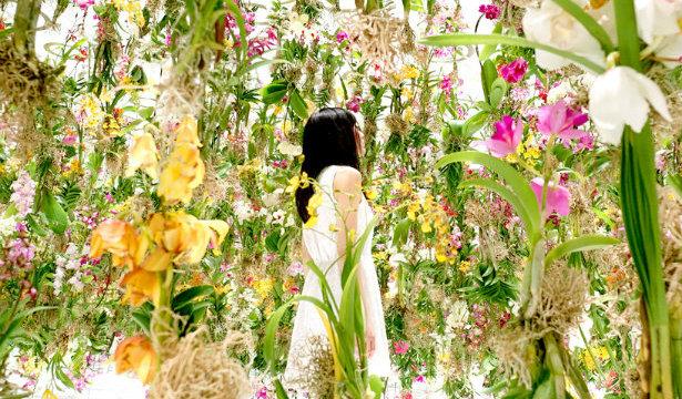 parisdesignagenda-MAISON&OBJET Floating Flower Garden-featured