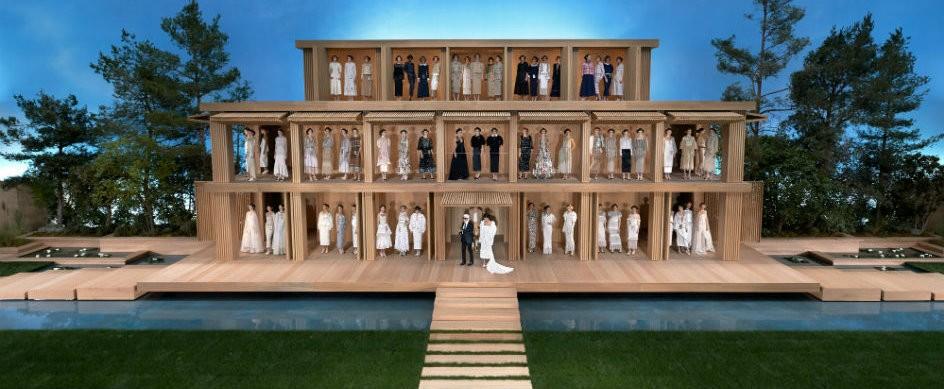 2016 Paris Couture Week: Chanel's Minimalist Wood House
