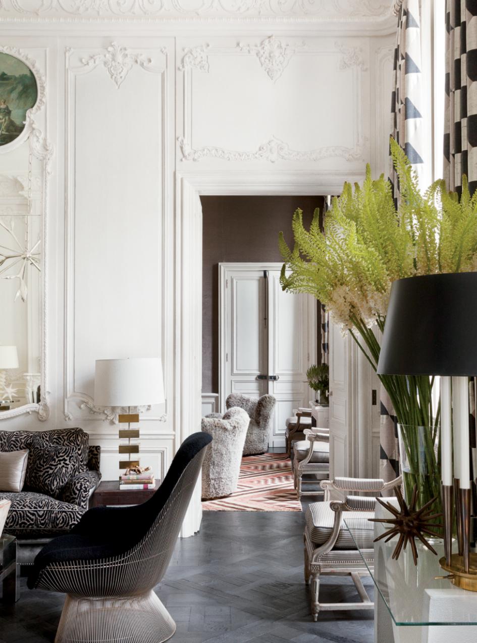 Parisian Chic: The Home Decor Of Paris Apartments | Paris ...