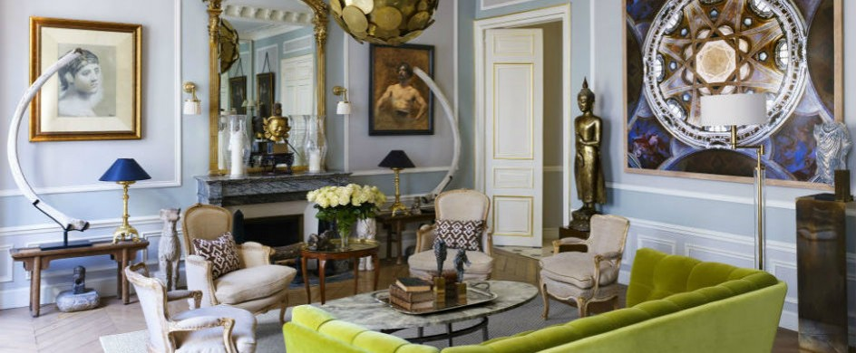 A sophisticated paris apartment for design lovers paris for Designer apartment paris