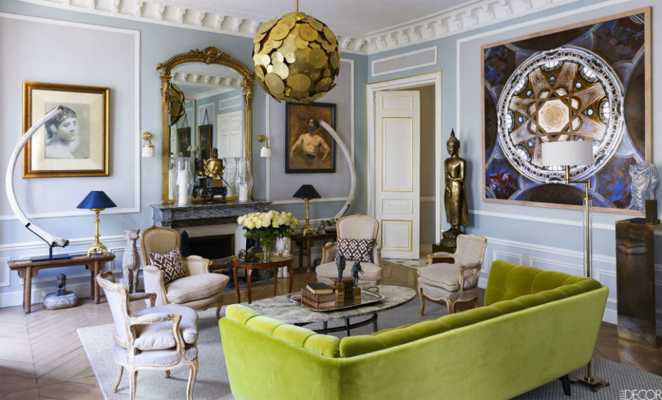 A Sophisticated Paris Apartment For Design Lovers (1)