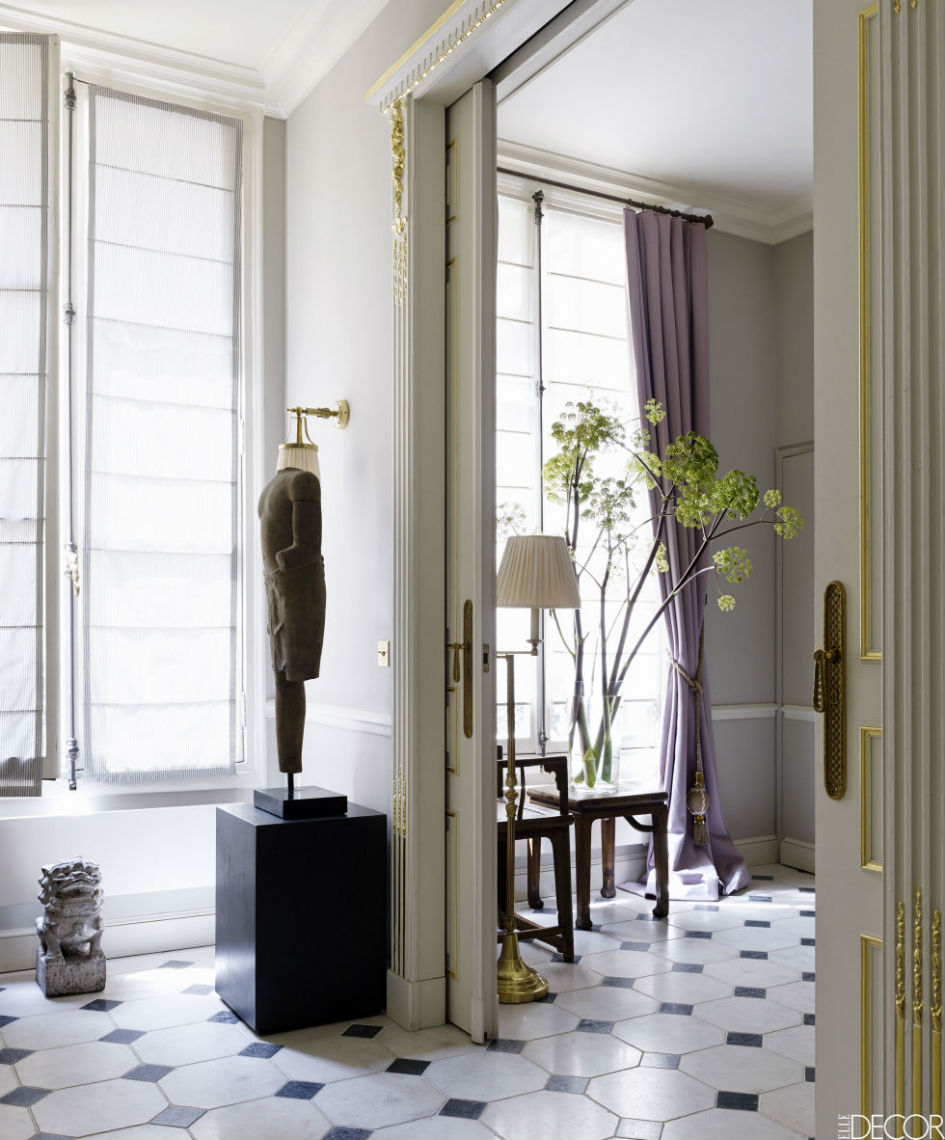 a sophisticated paris apartment for design lovers | paris design