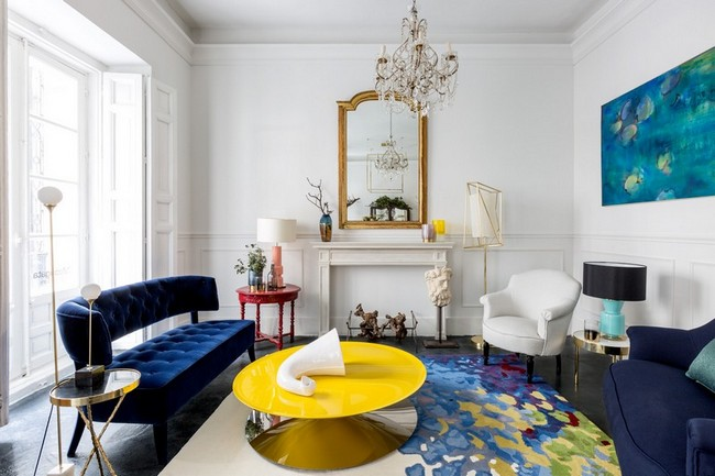 mid-century modern living room Be Marveled by a Mid-Century Modern Living Room with a Parisian Twist Be Marveled by a Mid Century Modern Living Room with a Parisian Twist 1