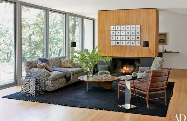 mid-century modern living room Be Marveled by a Mid-Century Modern Living Room with a Parisian Twist Be Marveled by a Mid Century Modern Living Room with a Parisian Twist 9