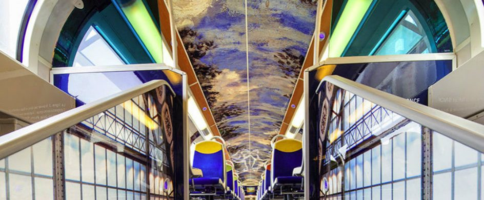 Famous Artwork In French Public Trains