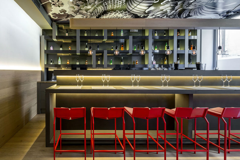 Vincent Coste Designs Japanese Restaurant With Tattoos (3)