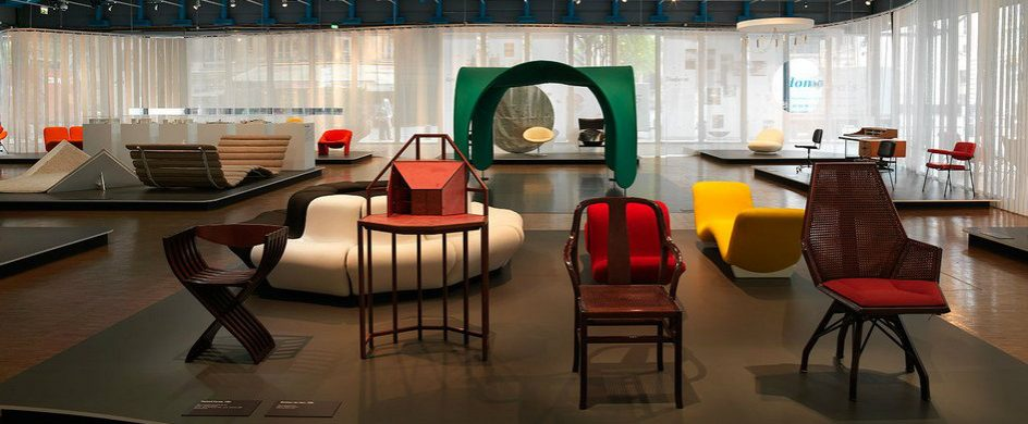 Centre Pompidou Displays Pierre Paulin's Chairs