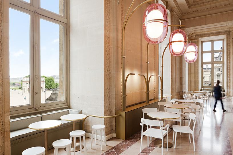 Huge Lamps By M. Lehanneur in Parisian Café Mollien (4) Mathieu Lehanneur Huge Lamps By Mathieu Lehanneur in Parisian Café Mollien Huge Lamps By Mathieu Lehanneur in Parisian Caf   Mollien 4
