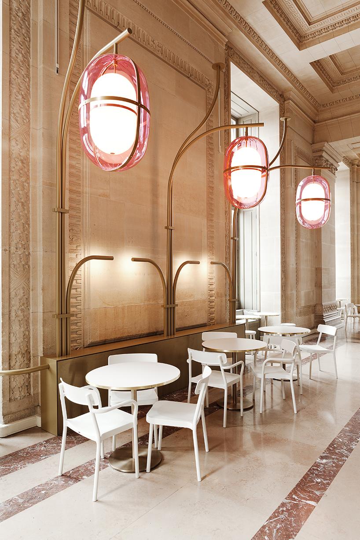 Huge Lamps By M. Lehanneur in Parisian Café Mollien (6) Mathieu Lehanneur Huge Lamps By Mathieu Lehanneur in Parisian Café Mollien Huge Lamps By Mathieu Lehanneur in Parisian Caf   Mollien 6