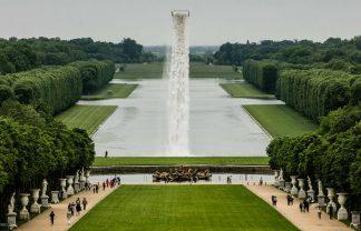 Olafur Eliasson Creates a Waterfall in Versailles (2) f