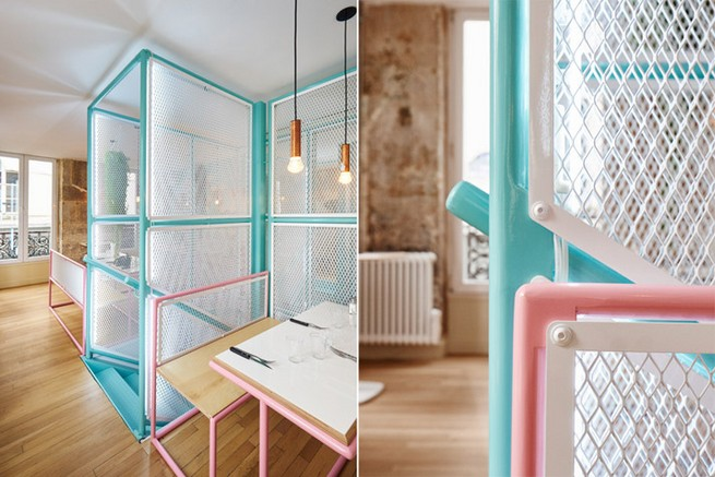 A Paris Restaurant That Serves Tasty Burgers And Colorful Interiors (10)