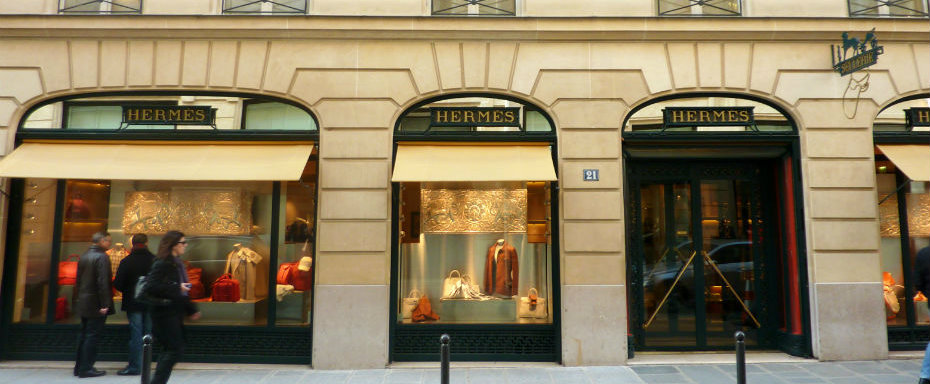 Where To Go In Paris: Hermès Shop