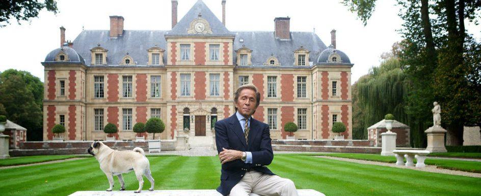 Inside Valentino Garavani's Paris Château