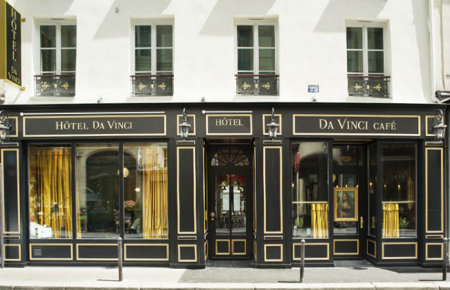 See The Stunning DA VINCI HOTEL interiors See The Stunning Interiors of Hotel da Vinci in Paris See The Stunning Interiors of Hotel da Vinci in Paris