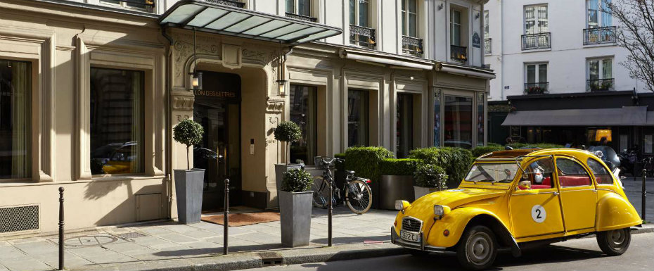 Paris Hotels: Le Pavillon des Lettres by Kerylos Intérieurs