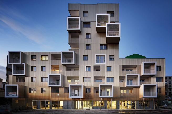 An Urban Block Designed by Hamonic + Masson & Associés