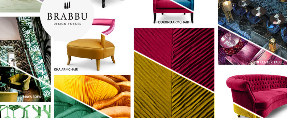 The Best Color Trends for Spring 2017 According To Design Brand BRABBU color trends The Best Color Trends for Spring 2017 According To Design Brand BRABBU b moodboard home 1