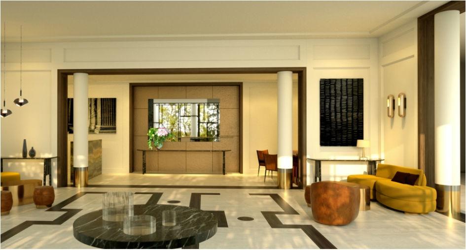 hotel lobby World's Most Stunning Hotel Lobby Designs Charles Zana Designs H  tel Opera 1