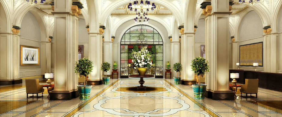 World's Most Stunning Hotel Lobby Designs
