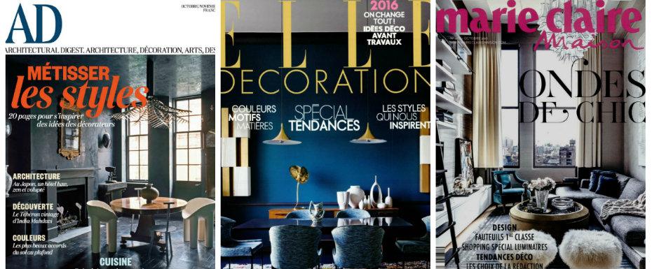 Top 5 French Interior Design Magazines interior design magazines Top 5 French Interior Design Magazines collage