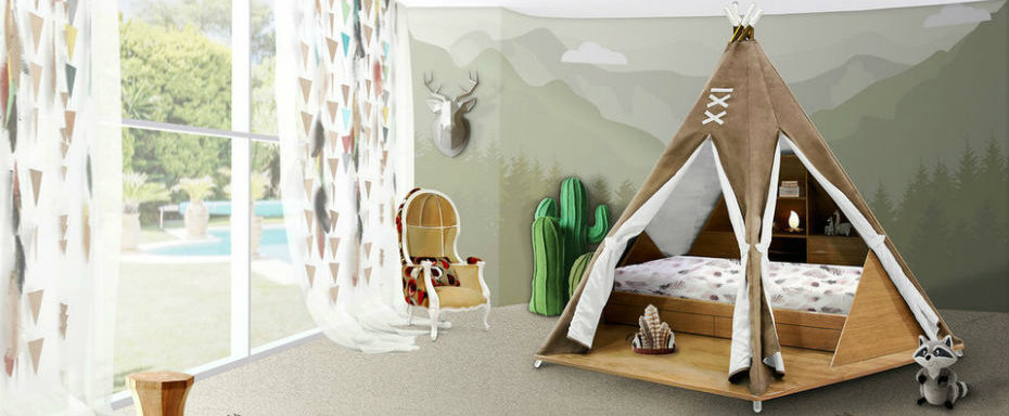 Kids Bedroom Ideas: Teepee room by Circu