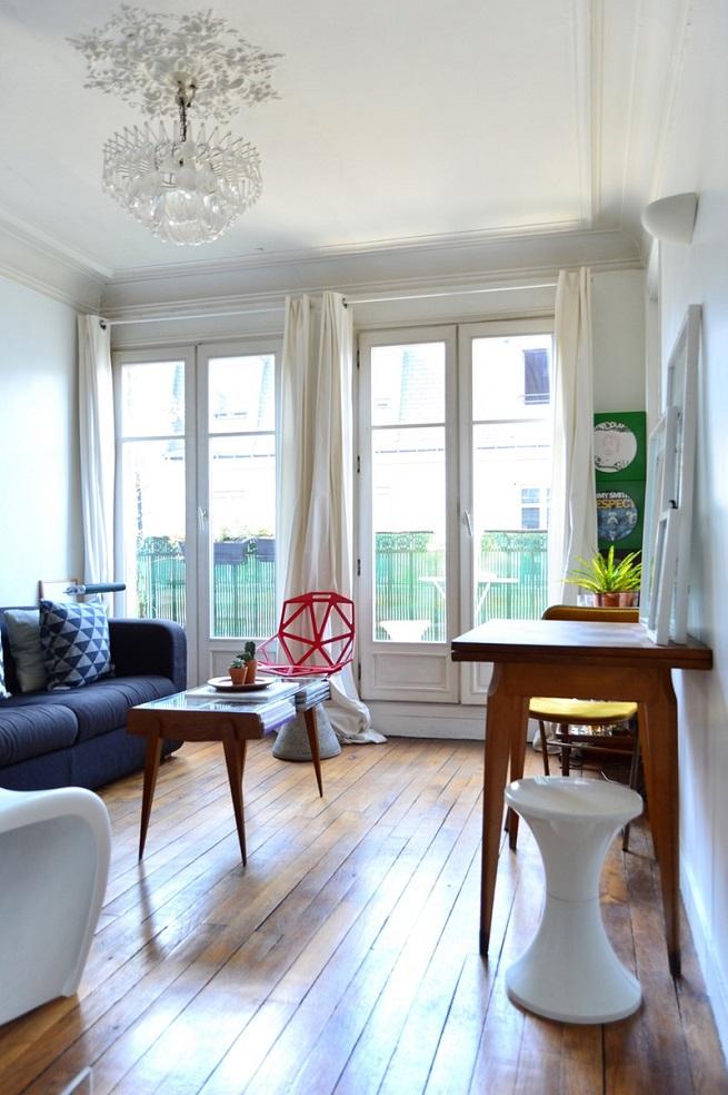 Small Paris Apartments With Amazing Interior Designs ...