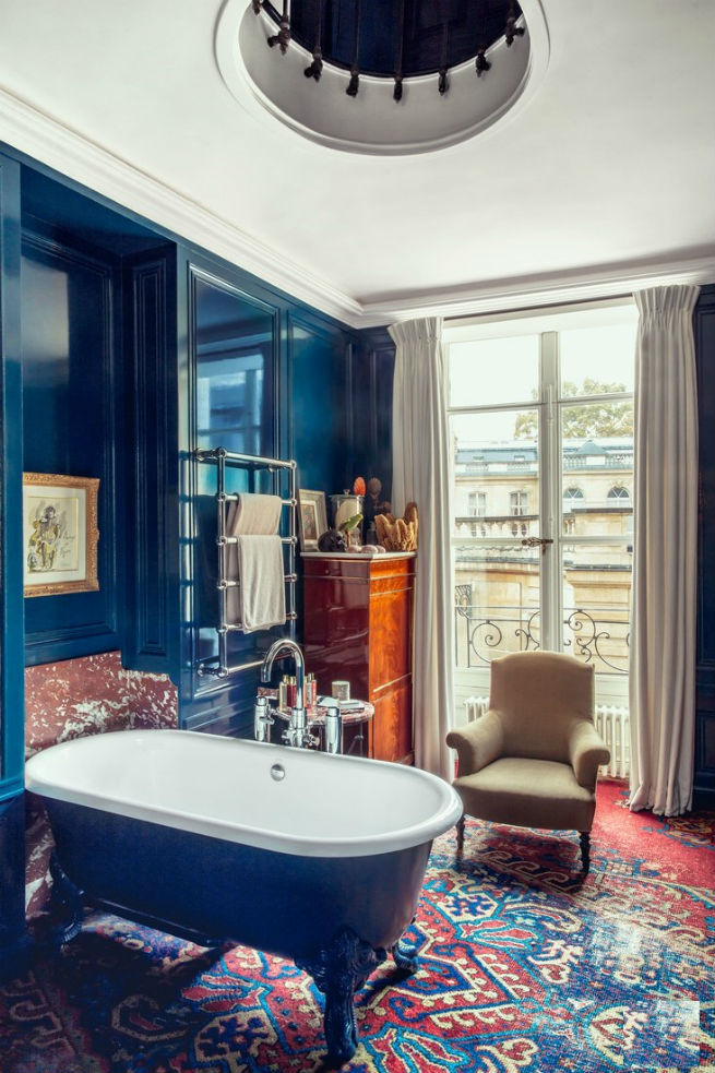 See Inside Pierre Sauvage's Paris style Apartment
