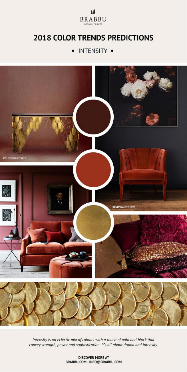 Home Decor Ideas With 2018 Pantone's Color Trends home decor ideas Home Decor Ideas With 2018 Pantone's Color Trends Home D  cor Ideas With 2018 Pantone   s Color Trends 3