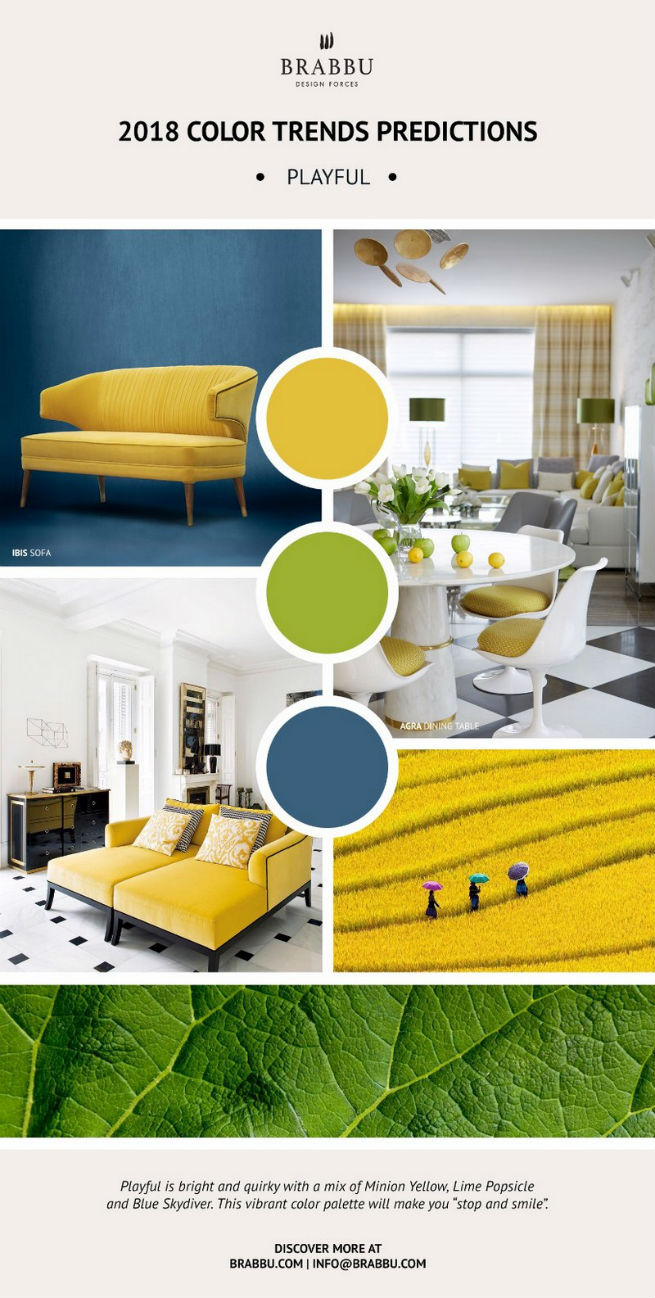 Home Decor Ideas With 2018 Pantone's Color Trends home decor ideas Home Decor Ideas With 2018 Pantone's Color Trends Home D  cor Ideas With 2018 Pantone   s Color Trends 5