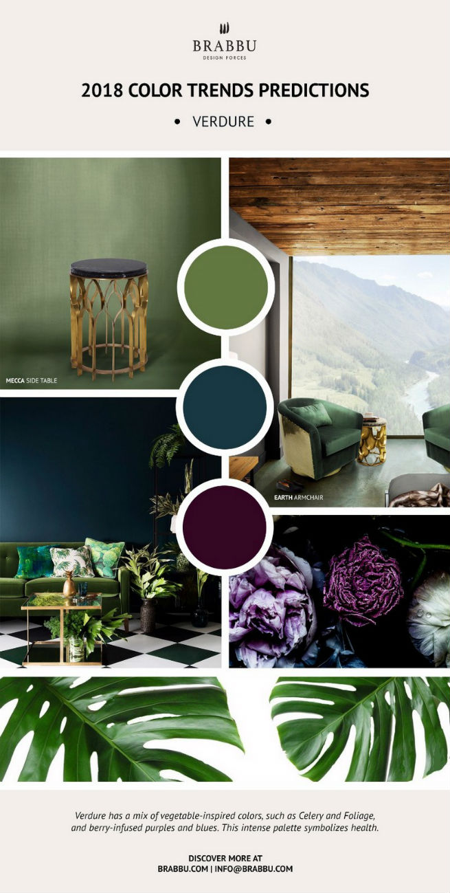 Home Decor Ideas With 2018 Pantone's Color Trends home decor ideas Home Decor Ideas With 2018 Pantone's Color Trends Home D  cor Ideas With 2018 Pantone   s Color Trends 8
