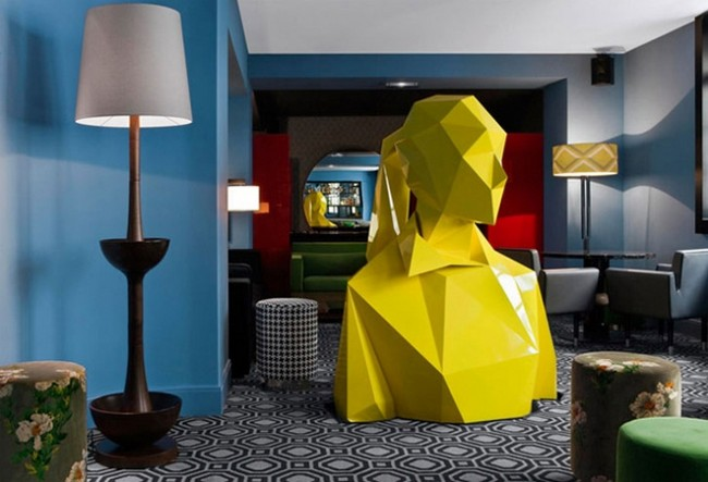 2018 AD100 Featuring the Best Design Projects by India Mahdavi 1