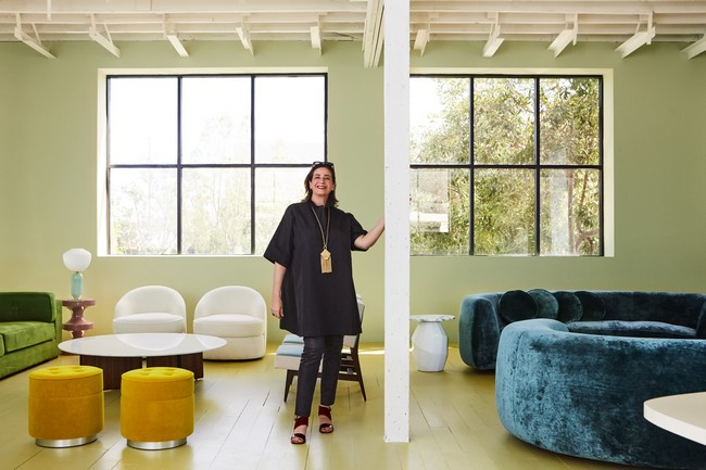 2018 AD100 Featuring the Best Design Projects by India Mahdavi 6
