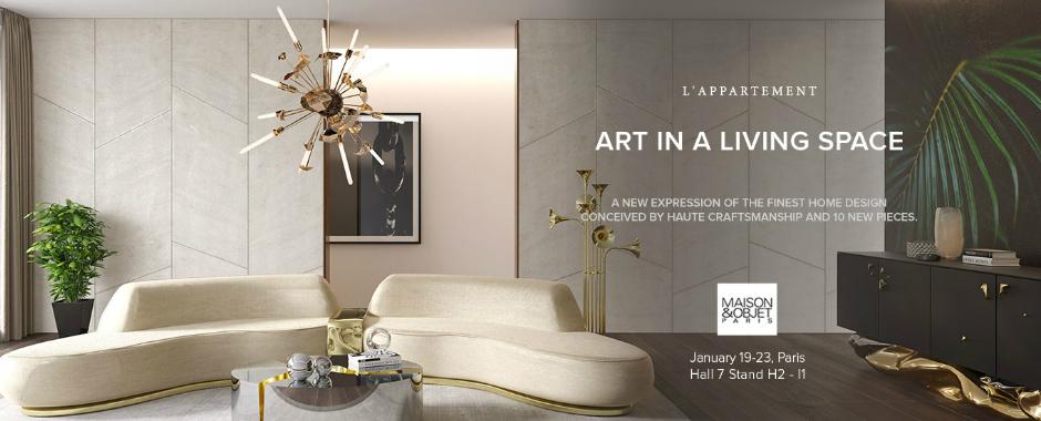L'Appartement D'Art Is a Must-Visit Exhibition at Maison et Objet 2018