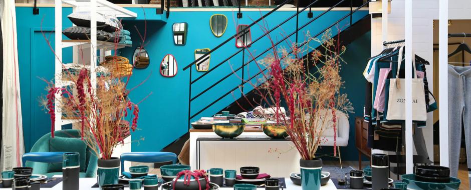 Maison Sarah Lavoine Turns Hidden Atelier Into Loft-Like Concept Store