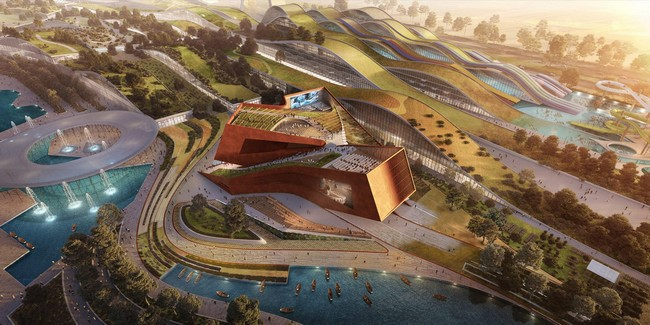 EuropaCity's Centre Culturel to be Designed by UNStudio in Paris 1
