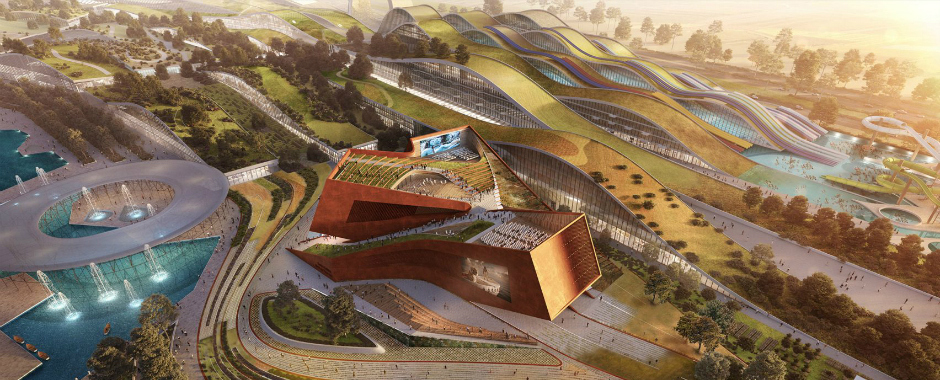 EuropaCity's Centre Culturel to be Designed by UNStudio in Paris